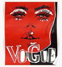 V.O.G.U.E. #fashionillustration Poster