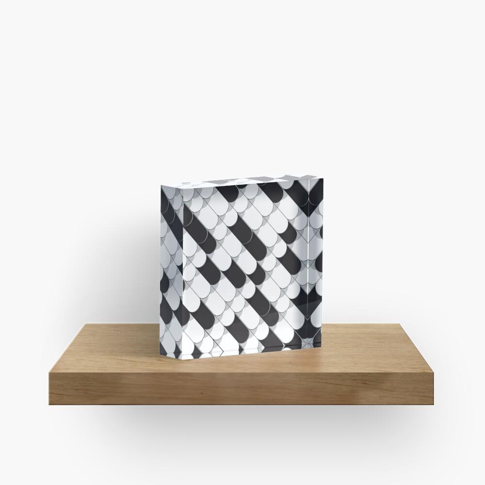 Abstrakter Aufbau (Fliesen) 5 Acrylblock