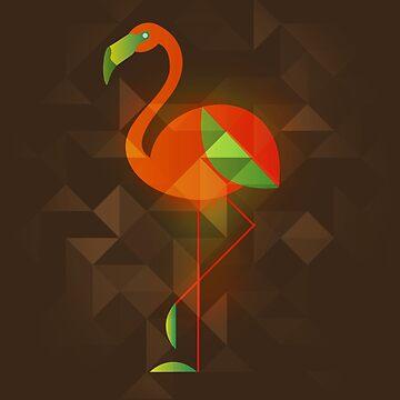 Birds - Flamingo by leandrojsj