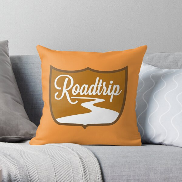 Roadtrip Throw Pillow