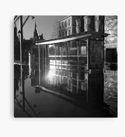 Waterbus Shelter Canvas Print