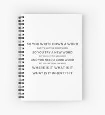 Hard to be the Bard Spiral Notebook