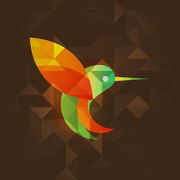 Birds - Beijaflor by leandrojsj
