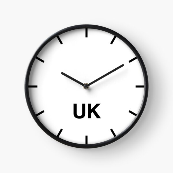 UK Time Zone Newsroom Wall Clock Clock