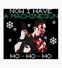 UGLY CHRISTMAS DIE HARD Photographic Print