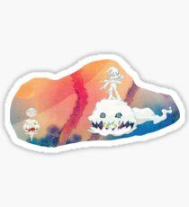 Kids See Ghosts sticker Sticker