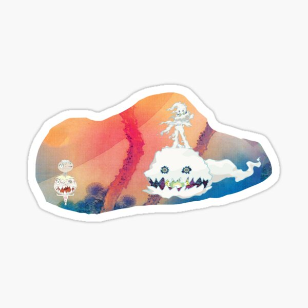 Kids See Ghosts sticker Sticker