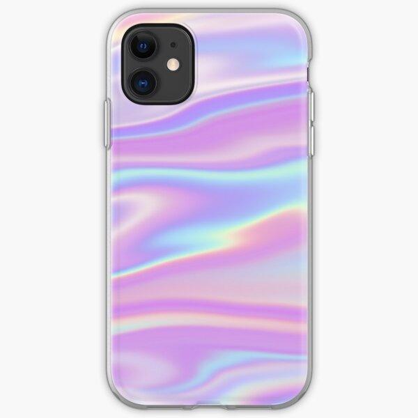 Bubblegum Holographic Hologram iPhone Soft Case