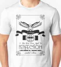 Vintage 1981 A Star Was Born Aged To Perfection Unisex T-Shirt