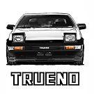 Toyota AE86 Trueno by Woreth