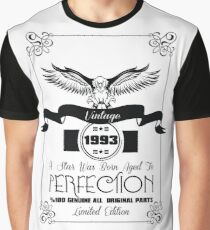 Vintage 1993 A Star Was Born Aged To Perfection Graphic T-Shirt