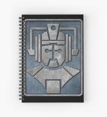 Cyberman Logo Spiral Notebook