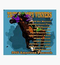 Triple Crown Winners 2015 Photographic Print