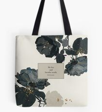 We live and breathe words. - Will Herondale. The Infernal Devices. Tote Bag
