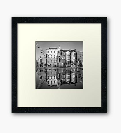 Cork Underwater Love Framed Print
