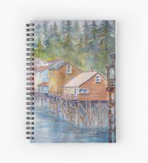 Ketchikan, Alaska Spiral Notebook