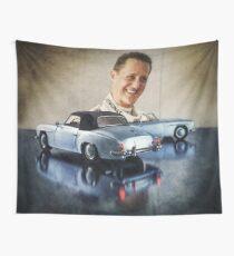 Michael Schumacher Mercedes 190 Wall Tapestry