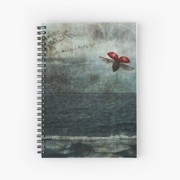 Over the Sea and Far Away Spiral Notebook