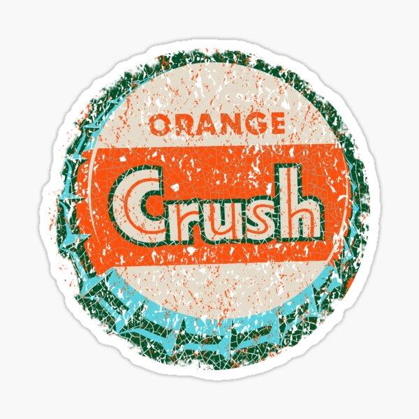 Orange Crush sign USA Sticker