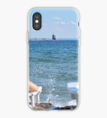 Lakeside Relaxation iPhone Case