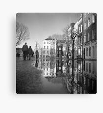 Walking On Water Canvas Print