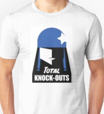 Total Knock Out's Roller Derby Unisex T-Shirt