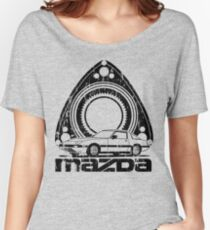 Distressed RX-7 Women's Relaxed Fit T-Shirt