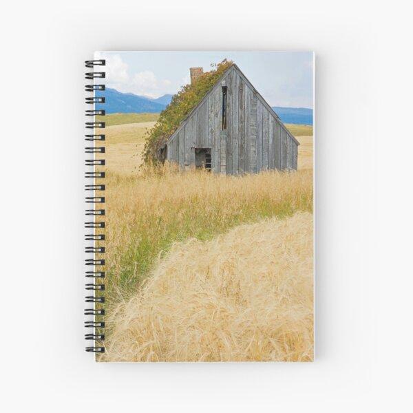 Broke Down Beauty, a.k.a. the Butt of the Barn Spiral Notebook