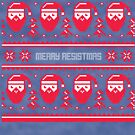 Merry Resistmas Christmas Sweater by CreatedTees