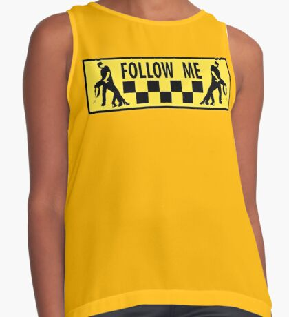 follow me dancer Contrast Tank