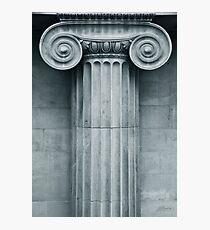 Ionic Capital Photographic Print