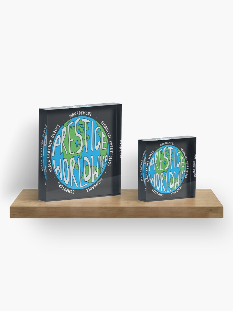 Alternate view of Step Brothers | Prestige Worldwide Enterprise | The First Word In Entertainment | Original Design Acrylic Block