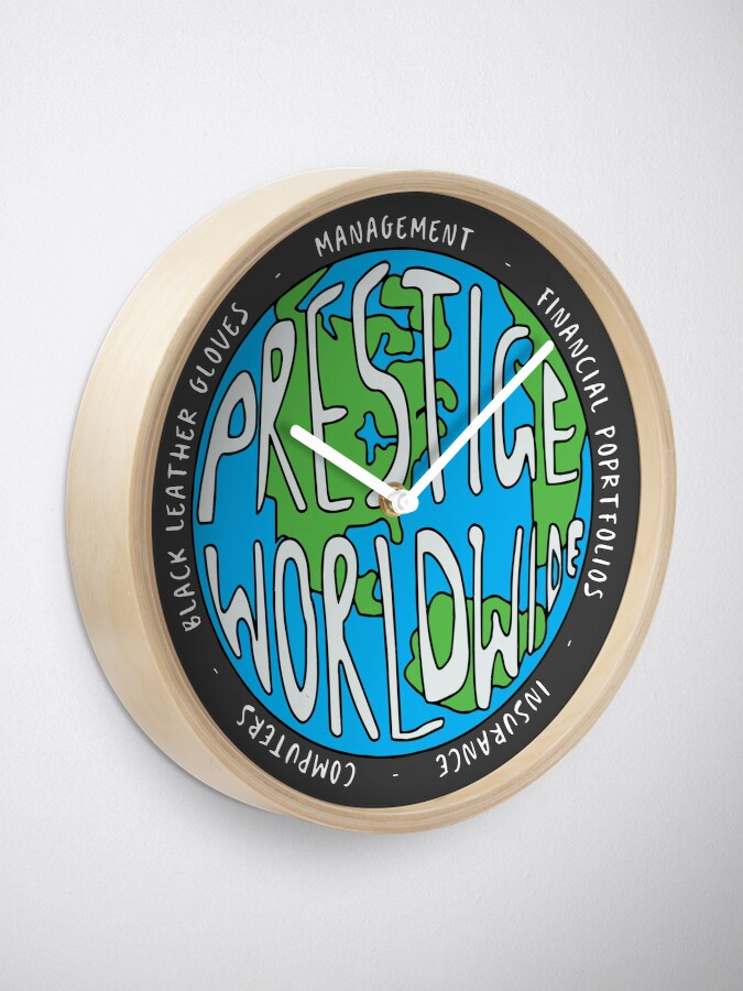 Alternate view of Step Brothers | Prestige Worldwide Enterprise | The First Word In Entertainment | Original Design Clock