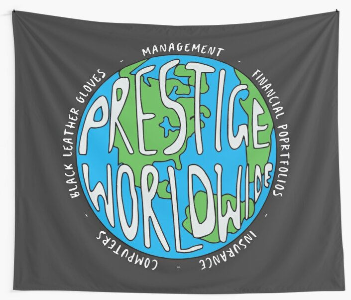 Step Brothers | Prestige Worldwide Enterprise | The First Word In Entertainment | Original Design by Art-O-Rama ®