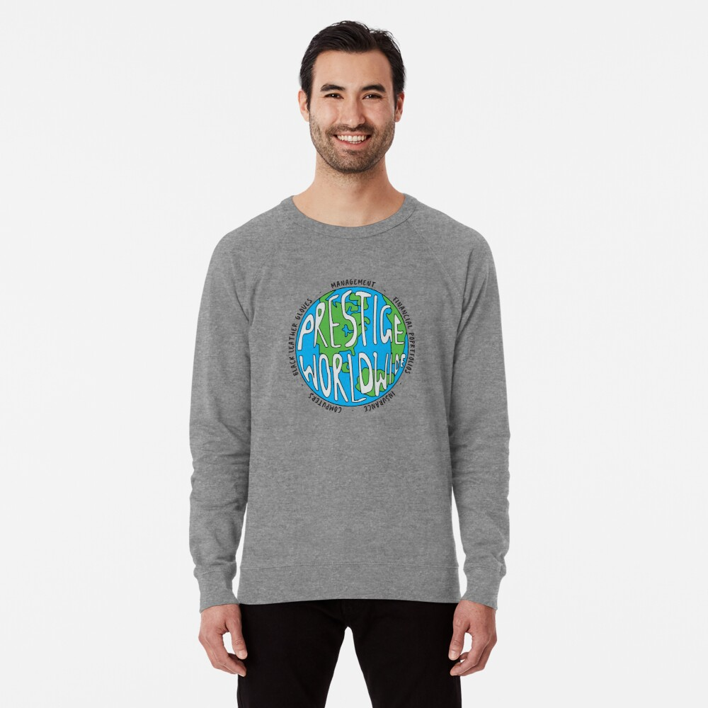 Step Brothers, Prestige Worldwide Enterprise, The First Word In Entertainment, Prints, Posters, Tshirts, Men, Women, Kids Lightweight Sweatshirt