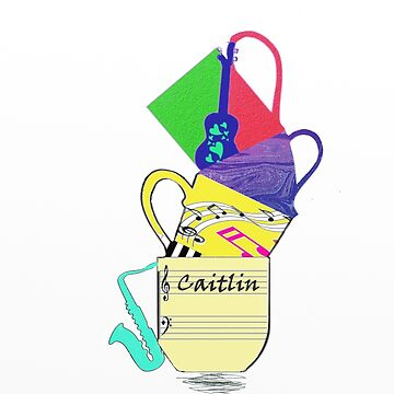 Caitlin - musical personalized gift by myfavourite8