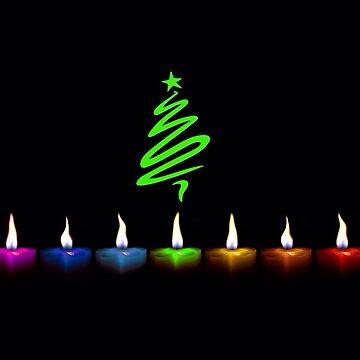 Christmas lights by BigRedDot