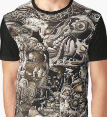 Surreal Fantasy. Biomechanical style Graphic T-Shirt