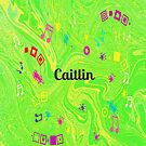 Caitlin - personalize your gift in green by myfavourite8