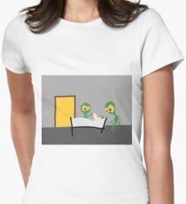 DAVID TECH - MIX #007 Tailliertes T-Shirt für Frauen