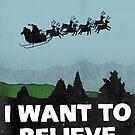 «Quiero creer en santa claus» de Ares286