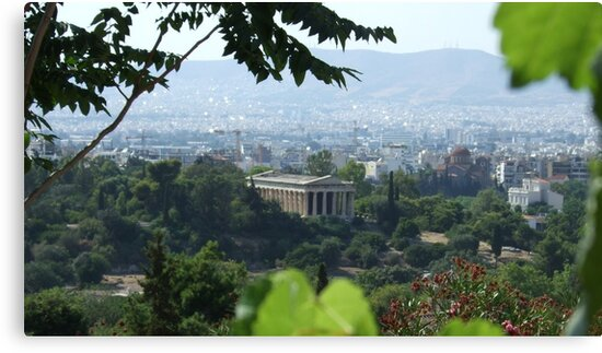 Temple of Hephaestos (Athens, capital of Greece) by Themis