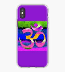 Om Waves iPhone Case