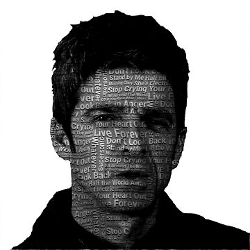 ★ Noel Gallagher Oasis Art by cadcamcaefea