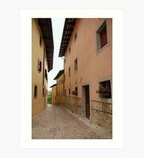 Street in Castel Monte Art Print