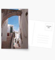 Locorotondo Street  Postcards