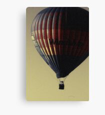 Evening Balloon Canvas Print