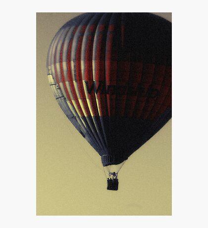 Evening Balloon Photographic Print