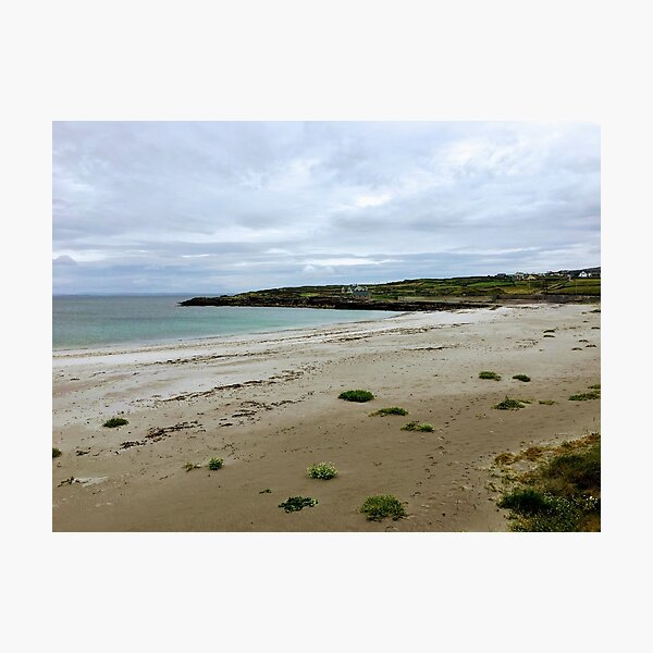 Secluded beach on Inishmore in Co. Galway Photographic Print