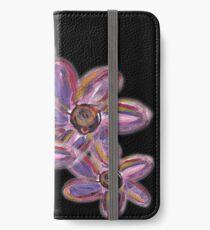 EVENING FLORAL iPhone Wallet/Case/Skin